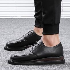 Chariot - Faux-Leather Platform Oxford Shoes