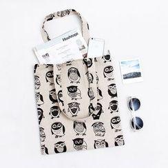 Eastin - Owl-Printed Shopper Bag