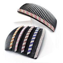 MI LI - Rhinestone Hair Comb