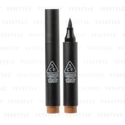 3 CONCEPT EYES - Longwear Tattoo Eyebrow Marker (Natural Brown)