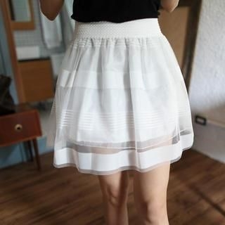 Mini Jule - Tulle A Line Skirt