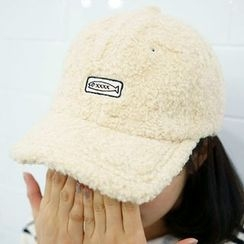 Seoul Homme - Embroidered Fleece Cap