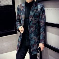 Hawoo - Floral Button Coat