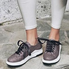 Pangmama - Lace-Up Sneakers