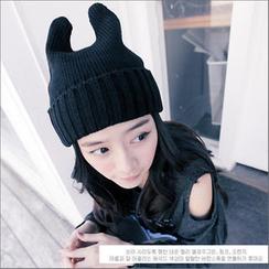 Clair Fashion - 動物貓耳朵造型毛線帽