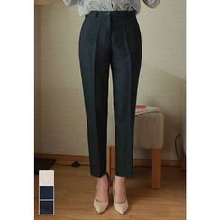 MyFiona - Pocket-Side Tapered Dress Pants