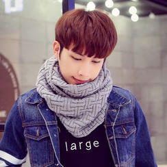 LS.SPRING - Knit Circle Scarf