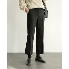 UPTOWNHOLIC - Flat-Front Dress Pants