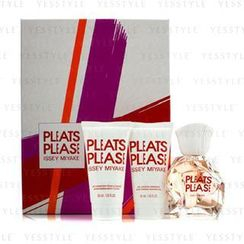 Issey Miyake - Pleats Please Coffret: Edt Spray 50ml/1.6oz + Moisturizing Body Lotion 50ml/1.6oz + Moisturizing Shower Gel 50ml/1.6oz