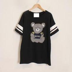 Momewear - Short-Sleeve Bear T-Shirt