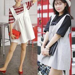 HOTPING - A-Line Jumper Skirt