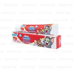 LION - Kodomo Xylitol Plus Special Toothpaste for Children (Strawberry)