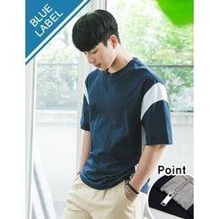 STYLEMAN - Short-Sleeve Color-Block T-Shirt