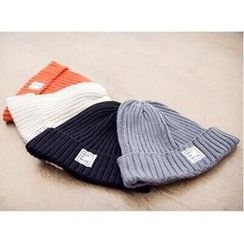 Mr.hezi - Cuffed Ribbed-Knit Beanie