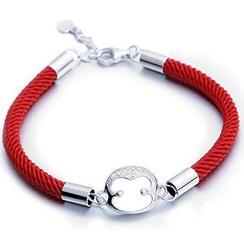 Zundiao - Sterling Silver Monkey Bracelet