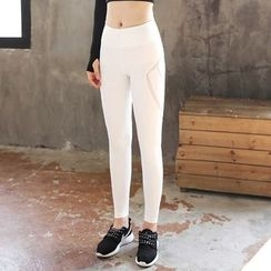 Fayton - Mesh Panel Yoga Pants