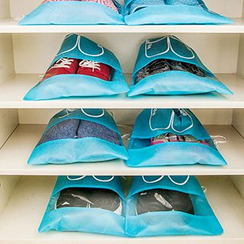 Show Home - Set of 10: Drawstring Shoe Bags