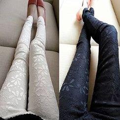 Rita Zita - Zip Front Skinny Pants