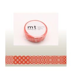 mt - mt Masking Tape : mt 1P Line Pattern (Red)