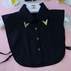 Eustacia - Metal Tip Decorative Collar