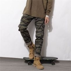 Mr.C studio - Camouflage Cargo Pants