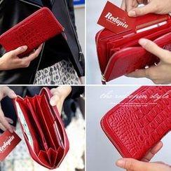 REDOPIN - Croc-Grain Wallet