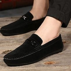 Shoelock - Faux Leather Loafers