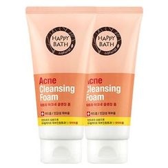 HAPPY BATH - Set of 2: Acne Cleansing Foam 175g