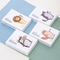 Show Home - Animal Cartoon Notebook