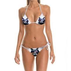 Omifa - Cat-Print Bikini