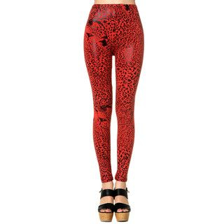 59 Seconds - Leopard-Print Leggings