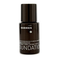 Korres - Wild Rose Brightening and Long Lasting Foundation SPF 20 - WRF9