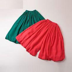 Kidora - 小童纯色裙裤