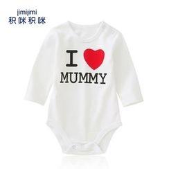 JIMIJIMI - Baby Lettering Bodysuit
