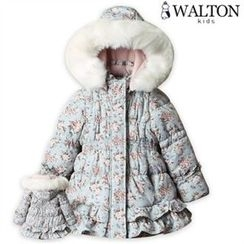 WALTON kids - Faux-Fur Hooded Padded Coat