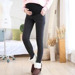Ohayo - Maternity Fleece Lined Leggings