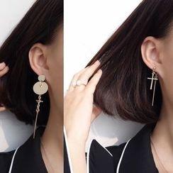 Calypso - Non-matching Drop Earrings