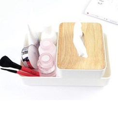 Cute Essentials - Desk Organizer with Tissue Box