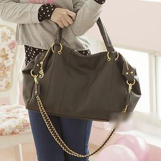 Chain Strap Detail Shoulder Bag