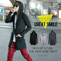 SeventyAge - Cotton Hooded Long Jacket