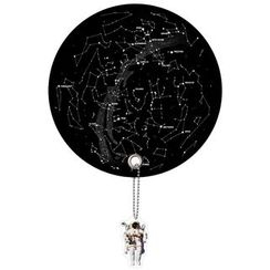 DREAMS - Planet Uchiwa (Shaped Hand Fan) (Star Map)