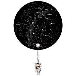DREAMS - Planet Uchiwa (Shaped Hand Fan) (Star Map)