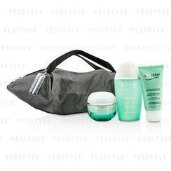 Biotherm 碧欧泉 - Aquasource X Mandarina Duck Coffret: Cream N/C 50ml + Biosource FoamCleanser 50ml + Biosource ToningLotion 100ml + Handle Bag