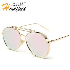 Koon - Double Brow Bar Round Sunglasses