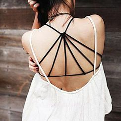 Glen Glam - Strappy Bra Top