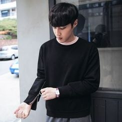 MEING - Zip-Accent Pullover