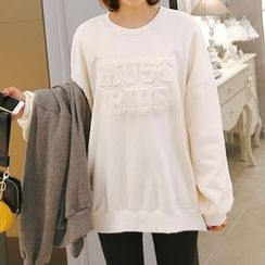 Seoul Fashion - Round-Neck T-Shirt