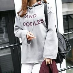 PIPPIN - Hooded Lettering Pullover
