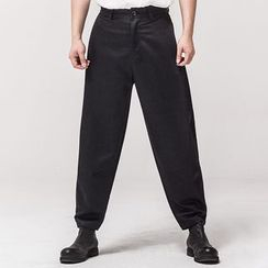 Ashen - Straight-Fit Casual Pants