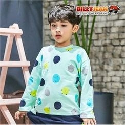 BILLY JEAN - Boys Crew-Neck Dot T-Shirt